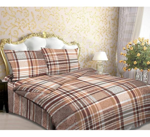 Шотландка коричневый 118-3-125