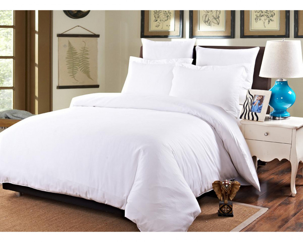 Белое постельное белье из бязи 120г