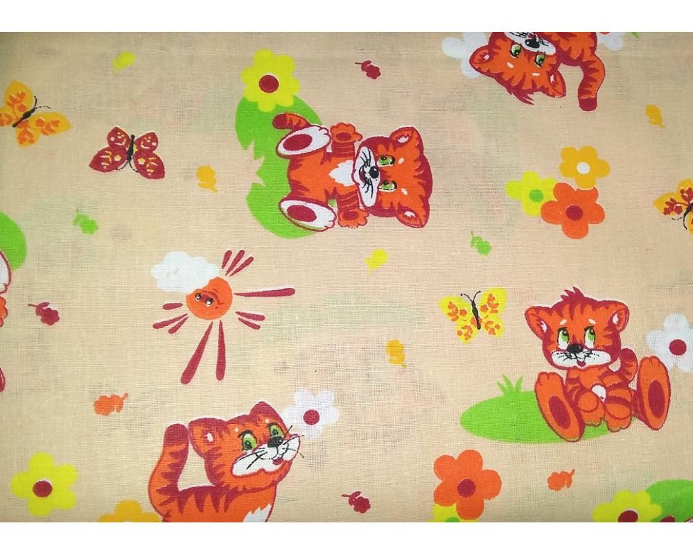Постельное белье 1631-5 Тигрята беж