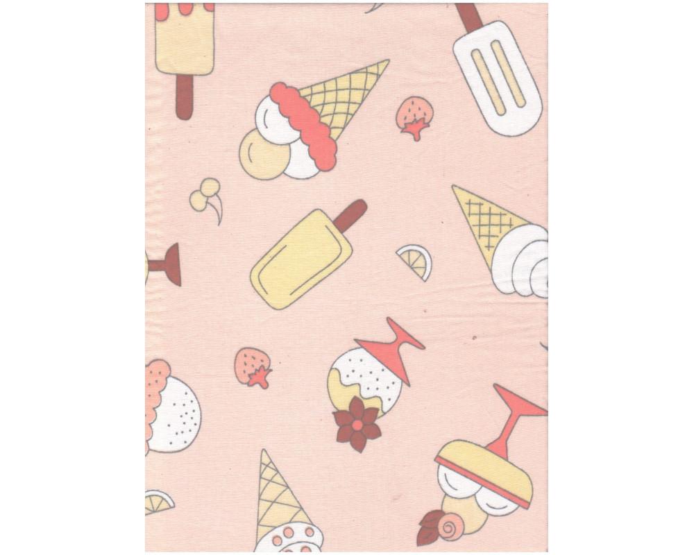 Постельное белье 1983-1 Мороженки персик