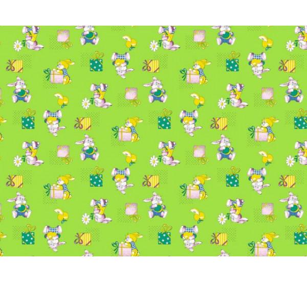 598-2 Братцы кролики зеленый