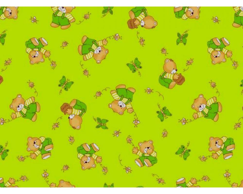 Постельное белье 1332-2 За медом зеленый