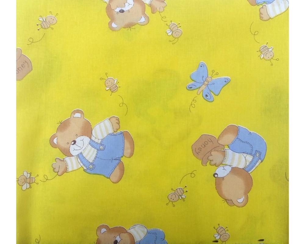 Постельное белье 1332-4 За медом желтый