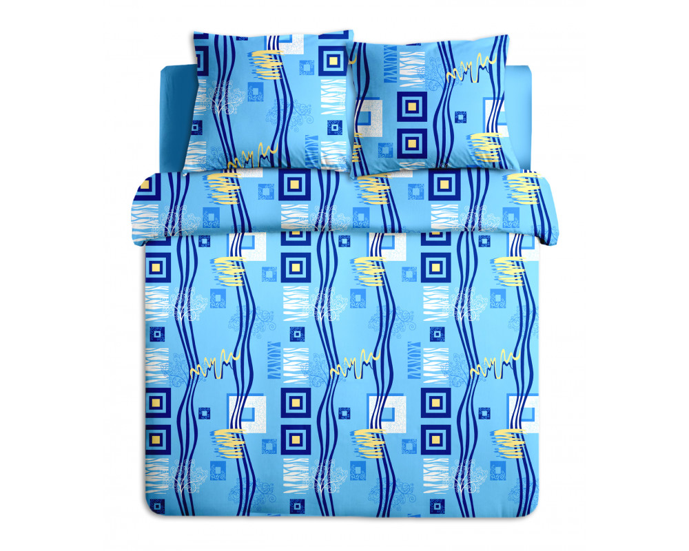 Постельное белье Пикассо голубой 348-1