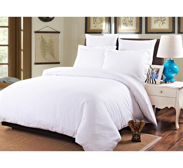 Белое постельное белье бязь 142г