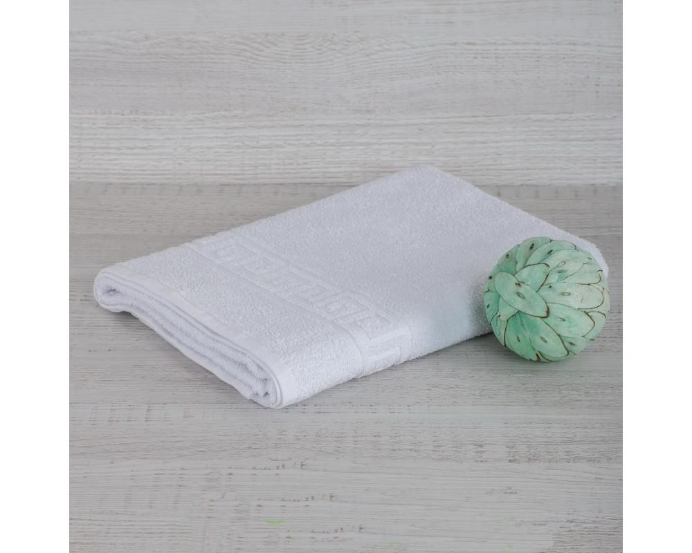Полотенце махровое 420г белое
