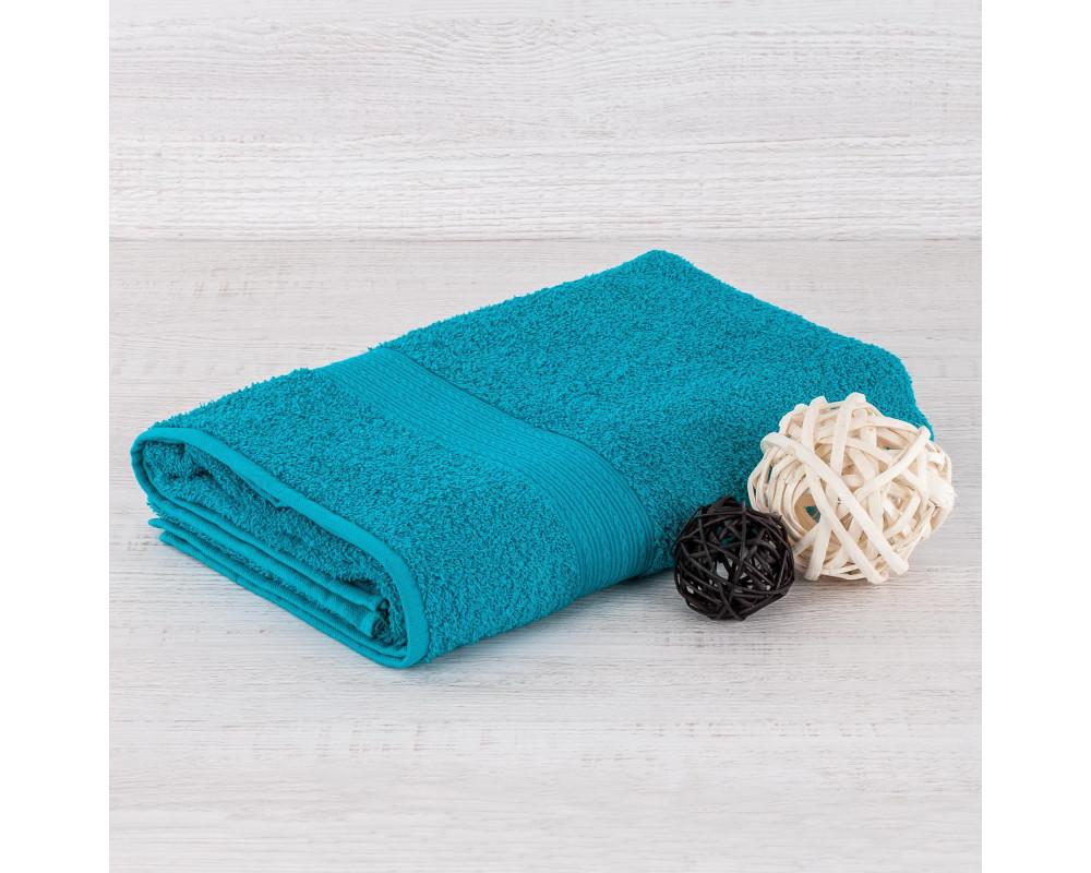 Полотенце махровое 420г бирюзовое