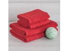 Полотенце махровое 420г красное