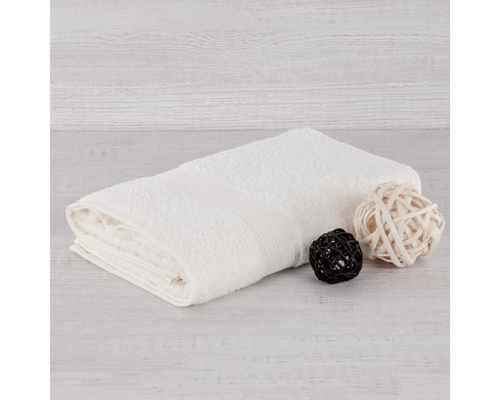 Полотенце махровое 420г кремовое