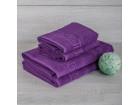 Полотенце махровое 420г сирень темная