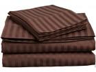 Комплект страйп-сатин 120г/м2 Шоколад