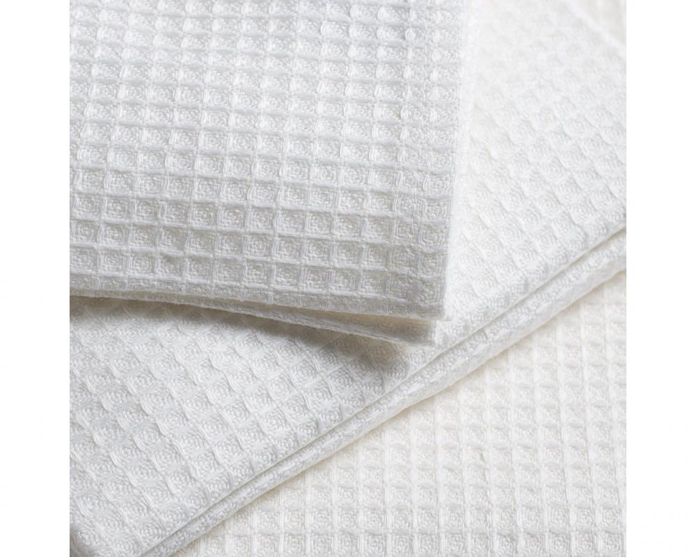 Полотенце вафельное белое 140г