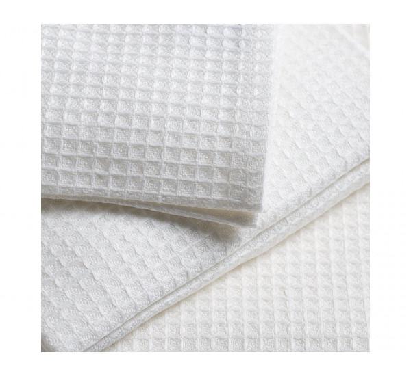Полотенце вафельное белое для Рабочих 150г/м2